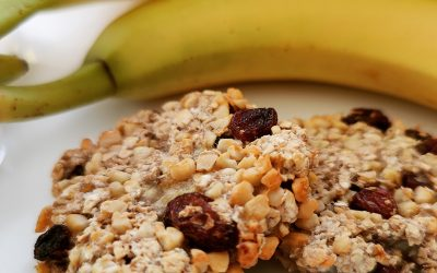 Bananen Haferflocken Kekse 🍌🍪