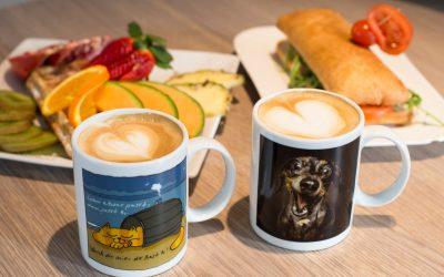 Kunst, Kaffee, Tierschutz 🐶🐱